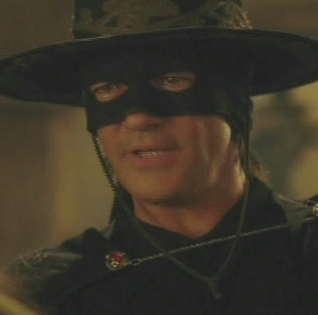 Antonio Banderas stars in 'The Legend of Zorro.'