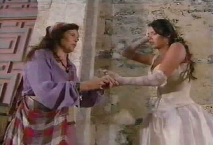Azucena suggests that Esmeralda will soon know her true destiny.
