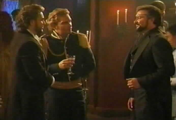 Don Alejandro and Ricardo Montero are introduced to Fernando Sanchez de Moncada.