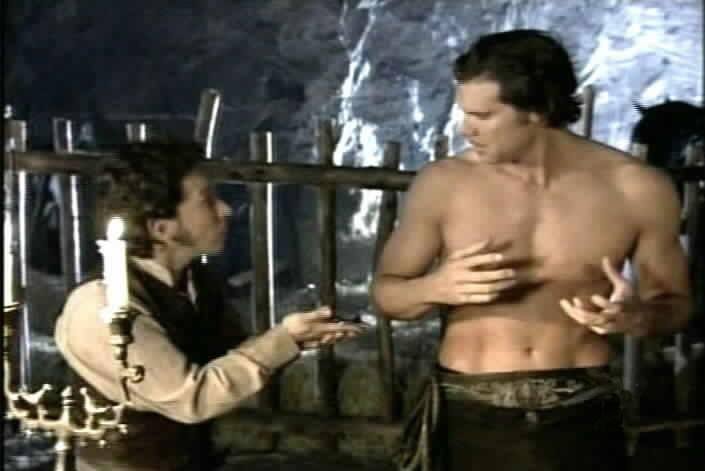 Bernardo shows Diego that he has the wrong medallion.